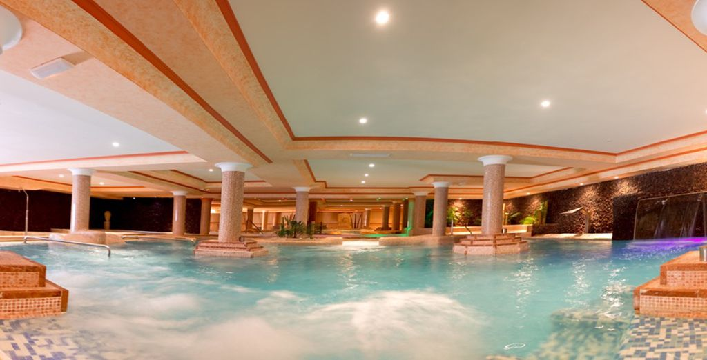 Capture moments of complete serenity in the spa