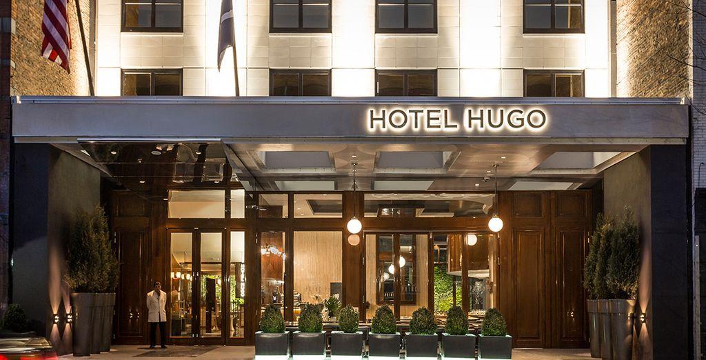 At Hugo Hotel, NYC