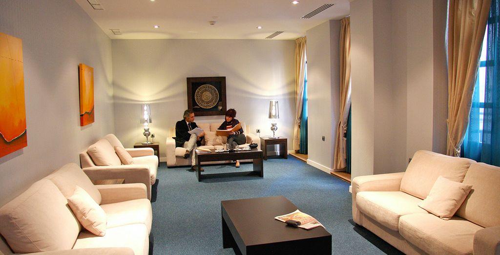 Enjoy the hotel's calming surroundings
