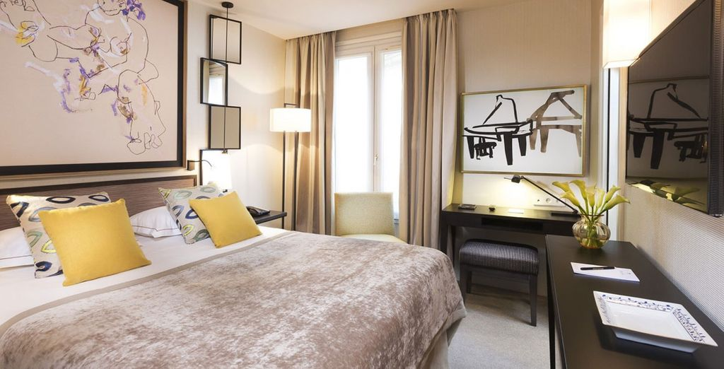 Your spacious Classic Room