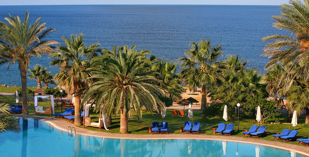 Relax and lounge by the refreshing swimming pool