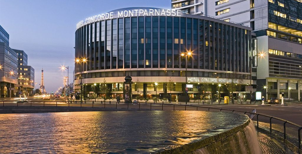 Stay at the Concorde Montparnasse