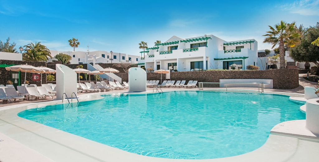Welcome to the 4* Ole Olivina Lanzarote Resort