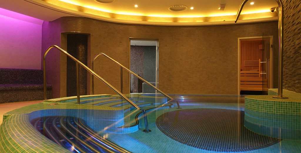 At the tranquil spa