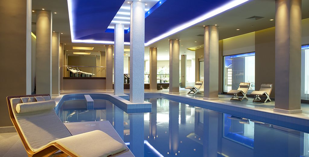 You will adore the award-winning spa