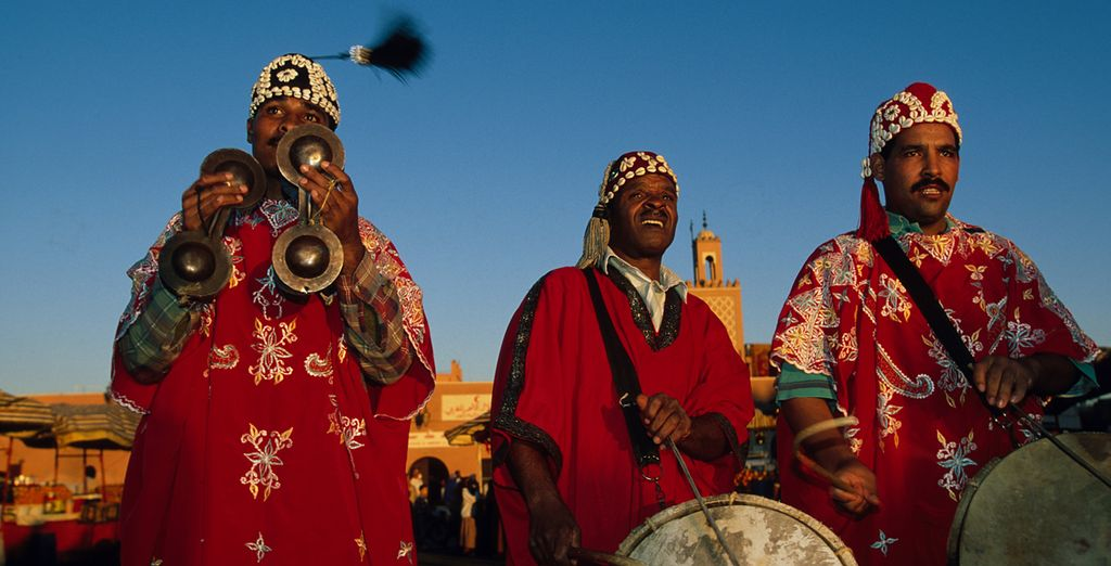 But first, start in the vibrant capital - Marrakech - Morocco Desert Tour Atlas Mountains