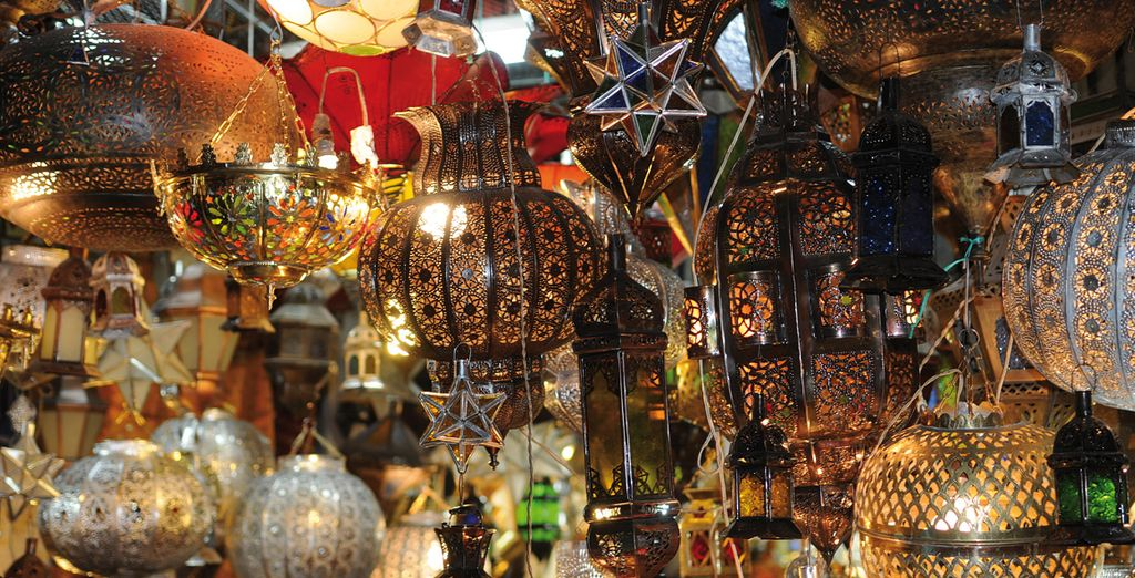 Browse Marrakech's glimmering souks