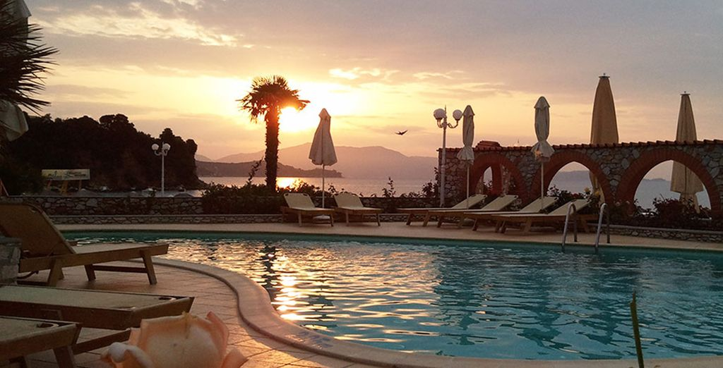 Soak up some sunshine by the Aegean Sea