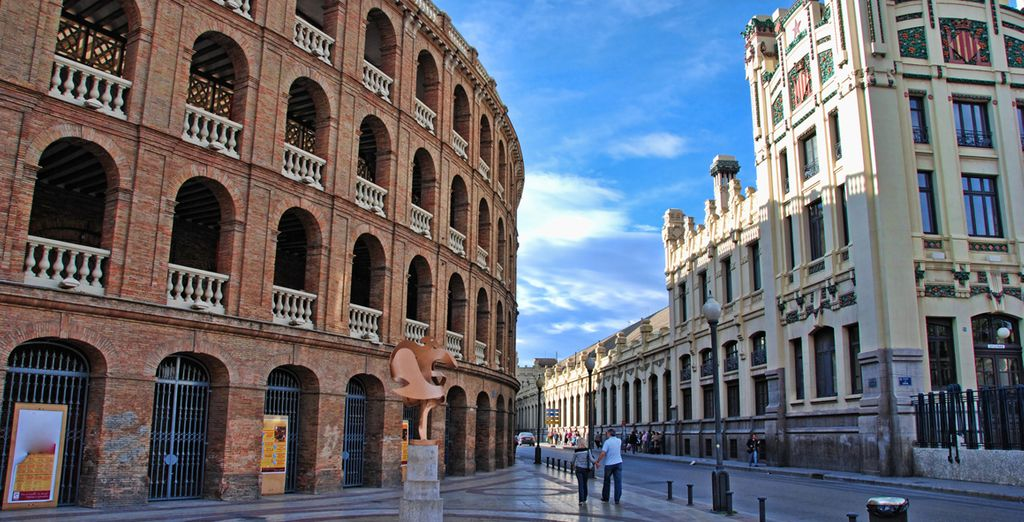 And wander amongst its beautiful architecture