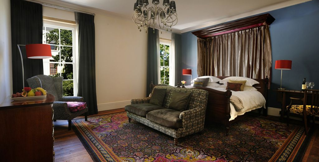 Each offer warm and inviting rooms (Oude Werf Hotel)