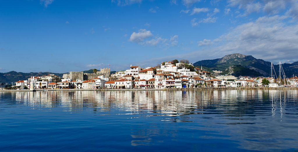 You finish your adventure in exciting Marmaris