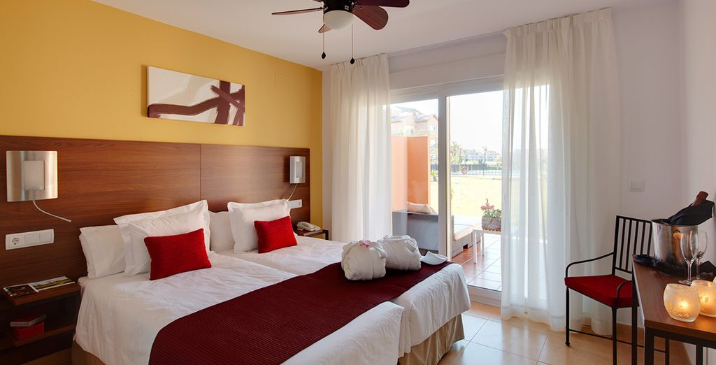 Enjoy a stay in a One Bedroom Apartment - The Residences at Mar Menor 4* Mar Menor