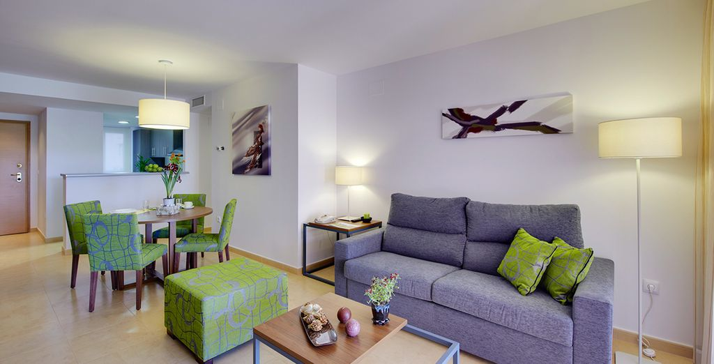 The apartments are a great base from which to explore the region