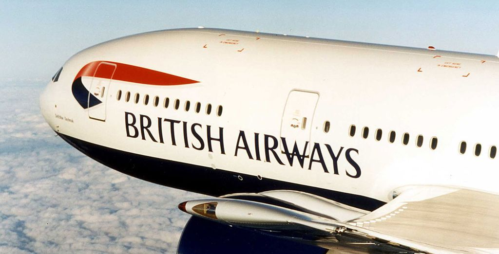 Flights are included with British Airways