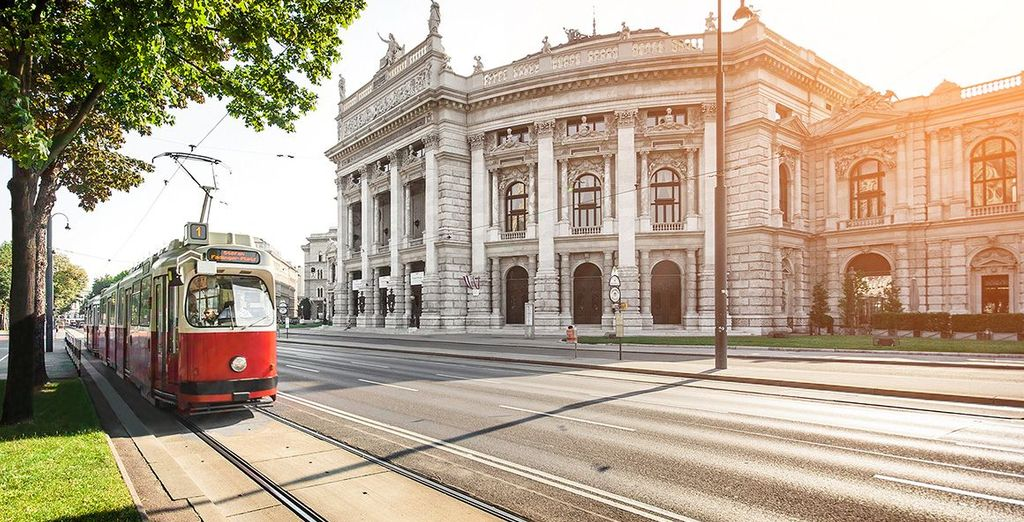 Experience the beautiful and cultural Vienna