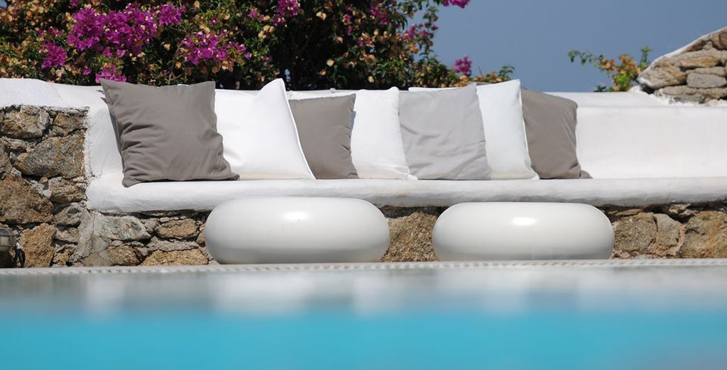 To this all suite boutique... - Ostraco Suites 4* Mykonos