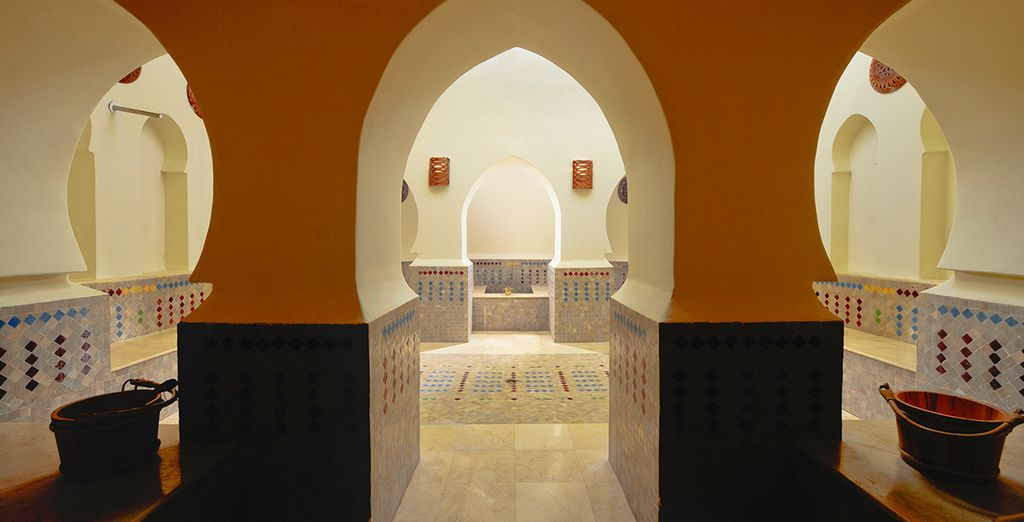 Spoil yourself with a trip to the hammam