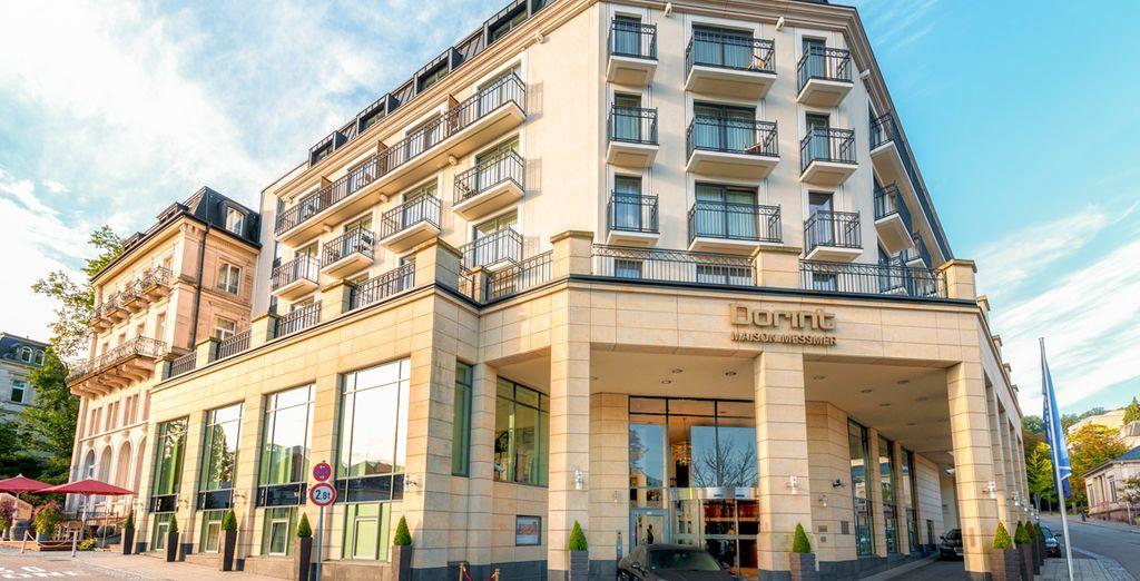 Lies the Dorint Maison Messmer, a fantastic 5* hotel