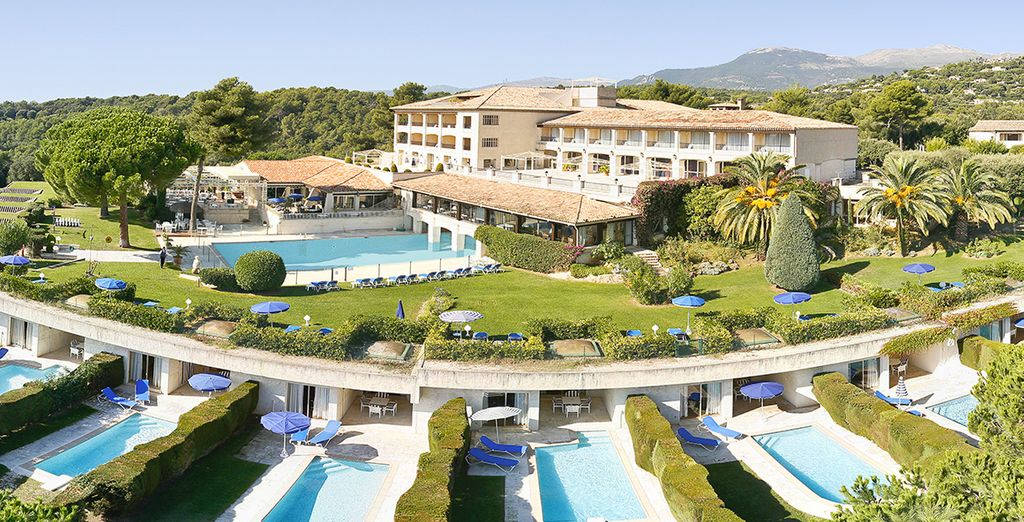 You'll find Hotel Le Mas d'Artigny & Spa