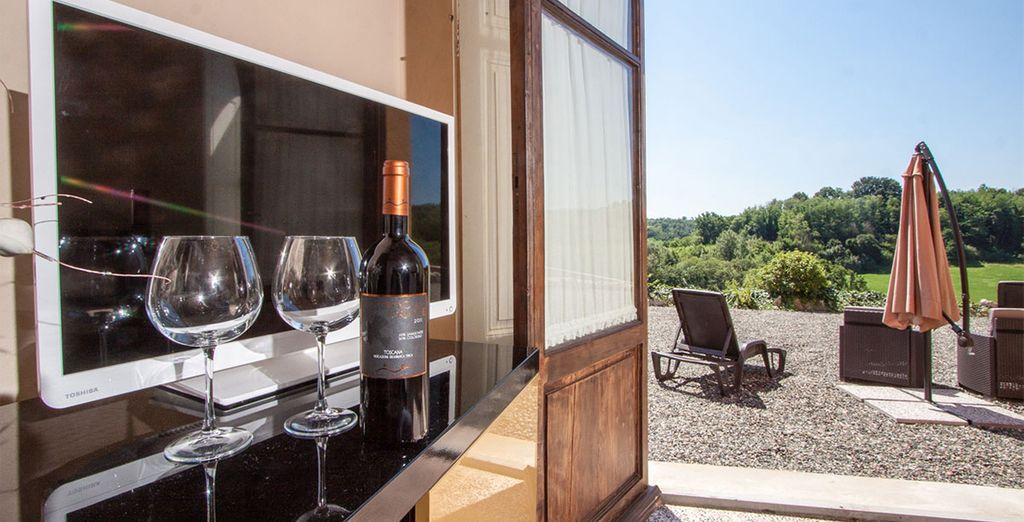 Our offer includes wine tasting at a local Chianti Wine Cellar...