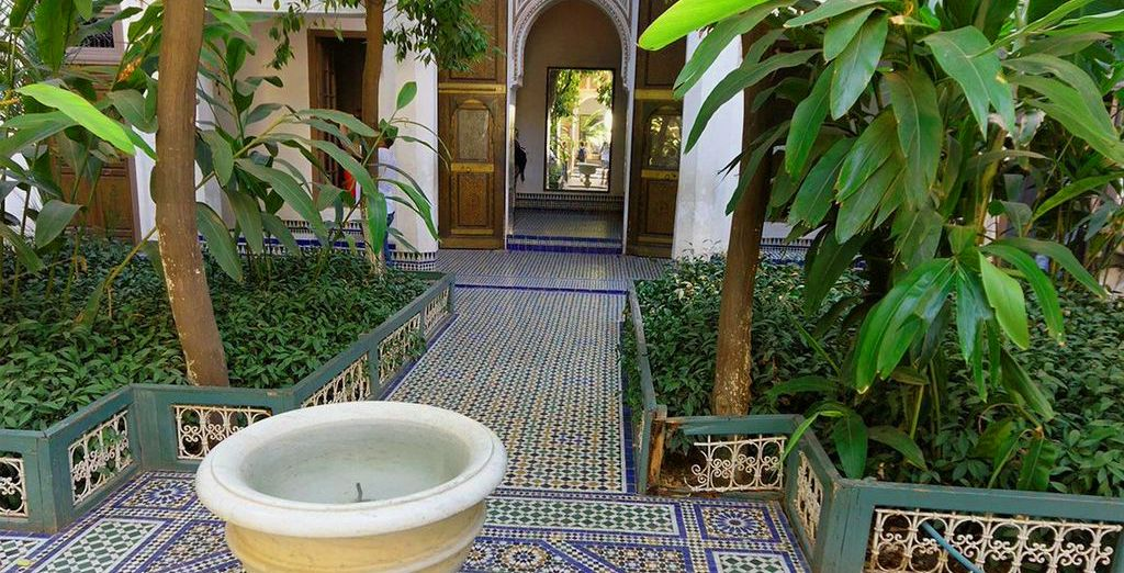 Or head out and discover the beautiful architecture, exotic sights & exquisite smells of Marrakech