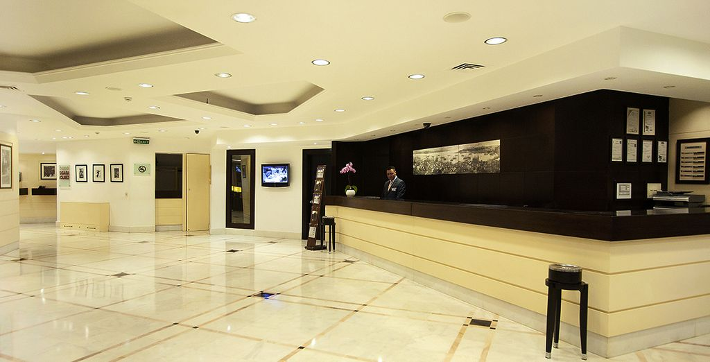 Richmond Hotel Istanbul is a chic hotel centrally located