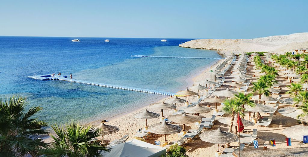 Or head down to the private beach for watersports