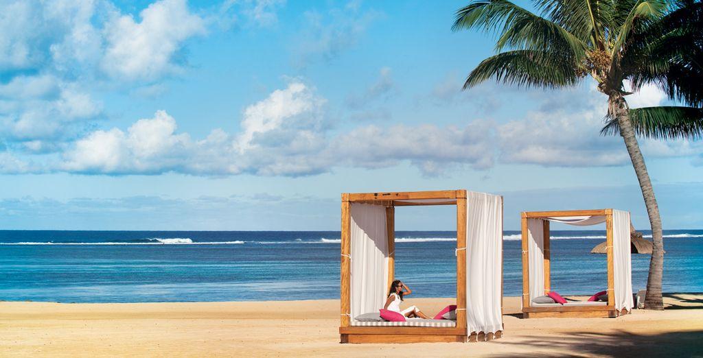 Enjoy splendid moments on the sand