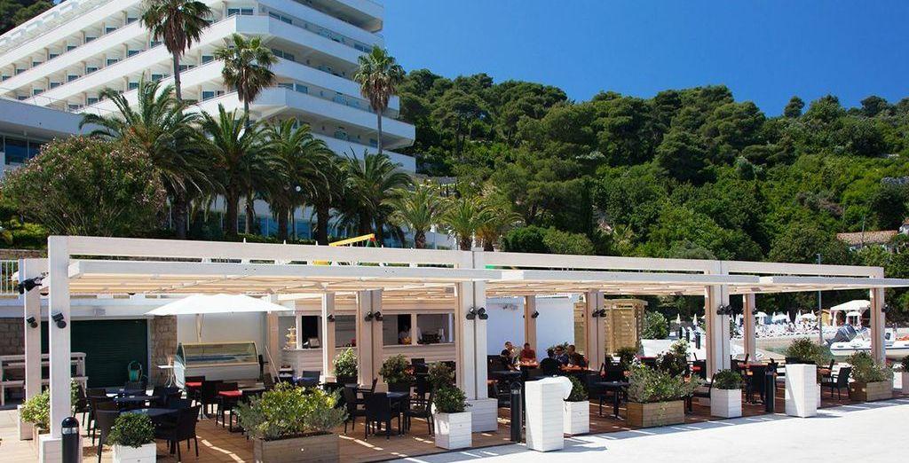 With a stay at the wonderful Lafodia Sea Resort - Lafodia Sea Resort 4* Lopud Island