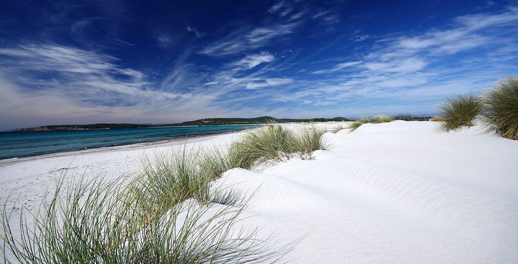 Head to the beaches of Cagliari!