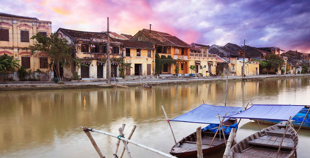 Or head to the local ancient town of Hoi An, a World Heritage Site