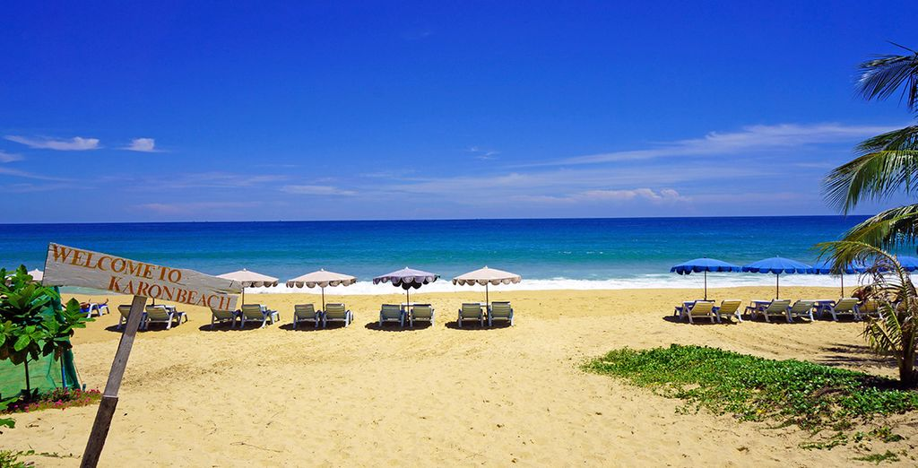 Lastly, you will end end on Phuket's pristine beaches
