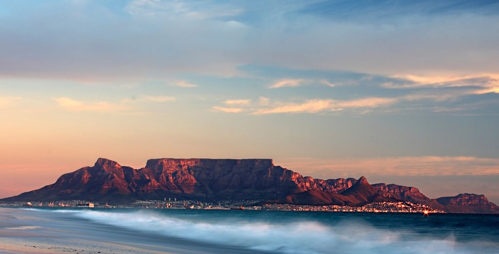 Begin with 4 nights in fascinating Cape Town