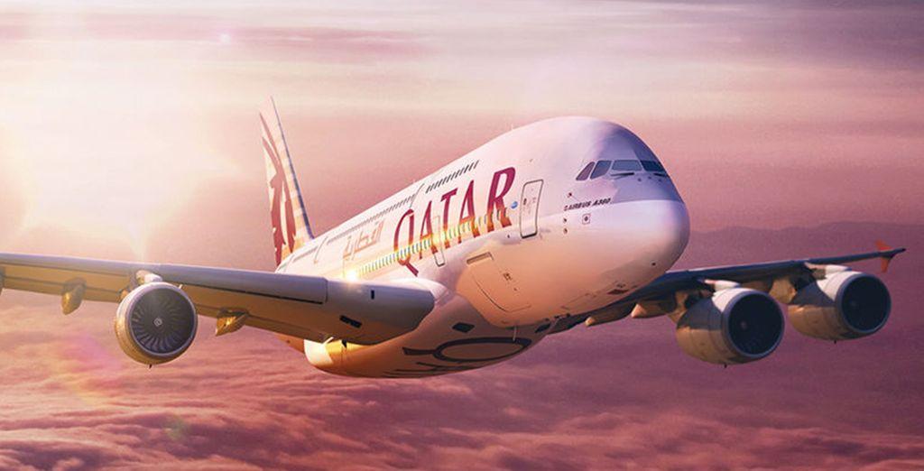Fly with Qatar Airways