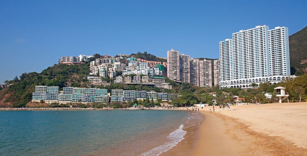 Feel the soothing waters at Repulse Bay