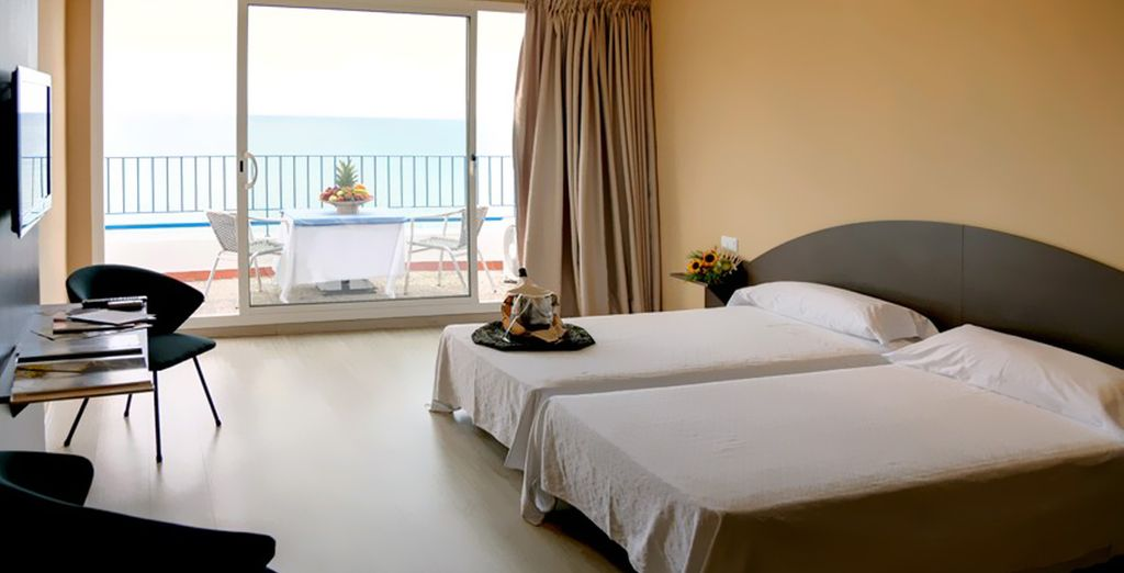 Stay in a Superior Sea View Room