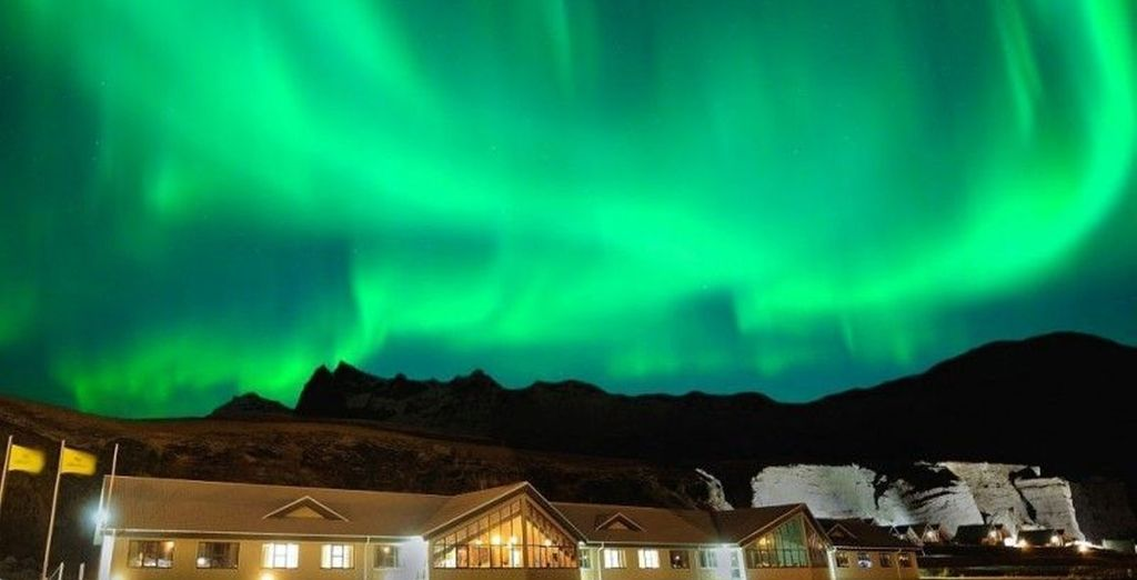 And of course the unmatchable sight that is the Aurora Borealis