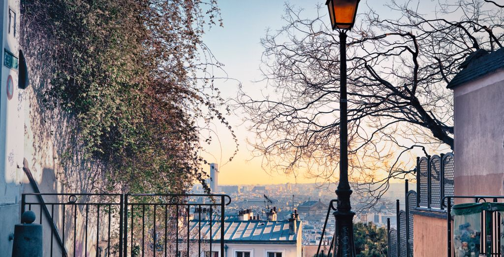 Wander the cobbled streets of Montmartre