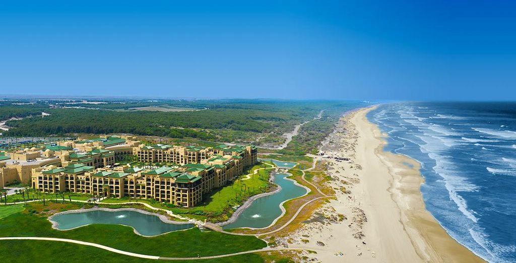 Experience the peaceful side of Morocco - Mazagan Beach Resort 5* El Jadida