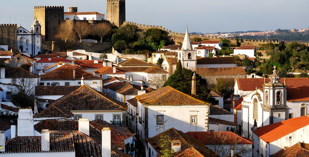 Explore the charming region of Obidos ...
