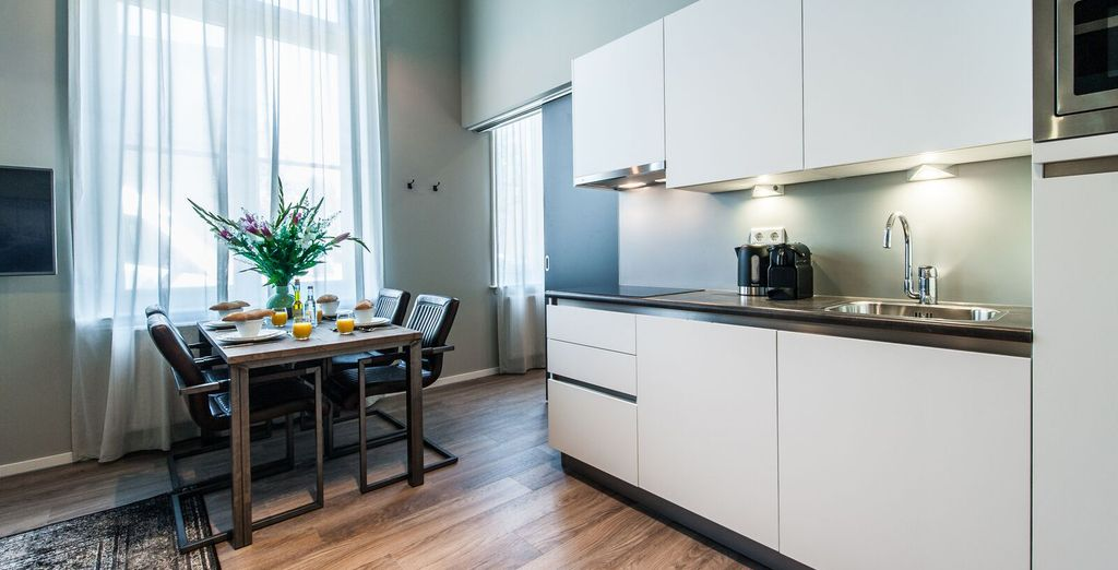 Apartments 1,2 & 3  : An ideal choice for your city break!