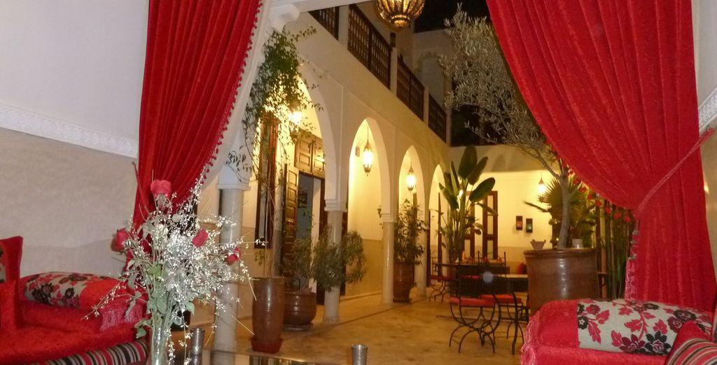 At the Riad Badi