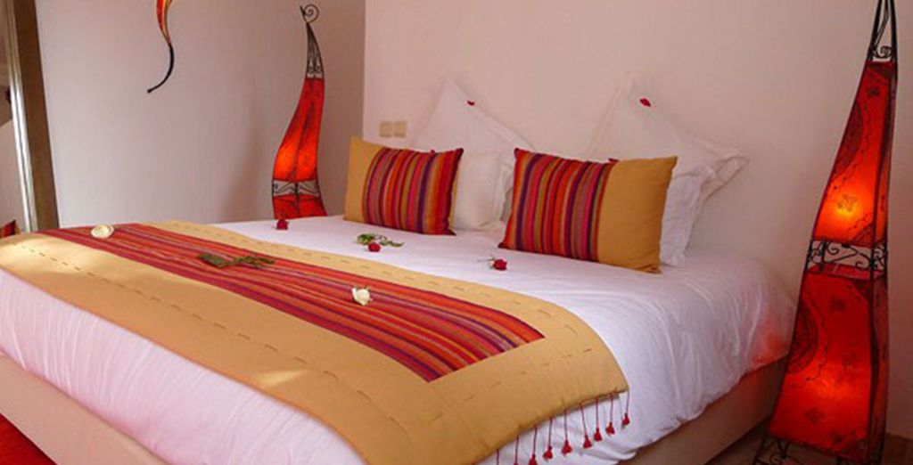 Each individually designed with traditional decor