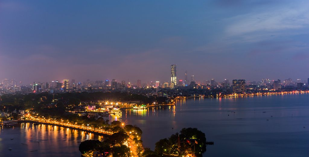 Begin your journey in energetic Hanoi, the atmospheric capital of Asia