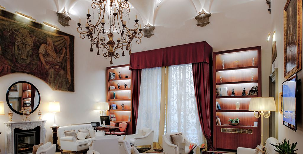 Stay at the Golden Tower Hotel & Spa***** - Golden Tower Hotel & Spa***** - Florence - Italy Florence