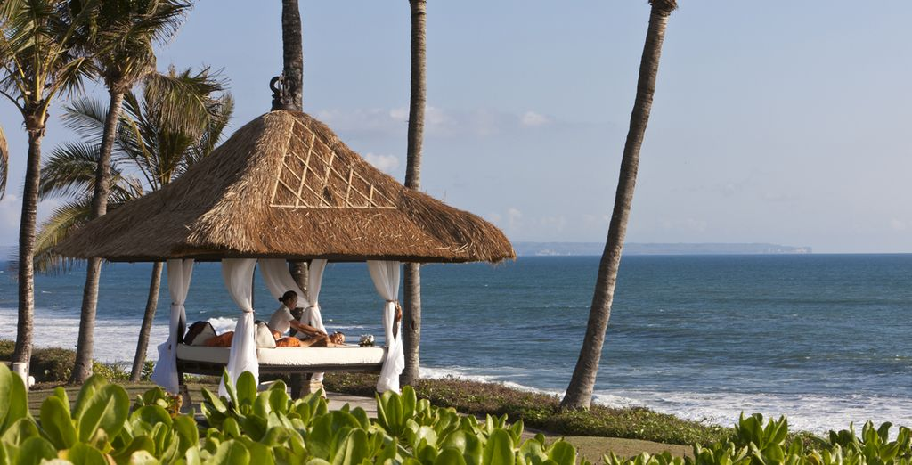 Rejuvenate with a beachside spa treatment