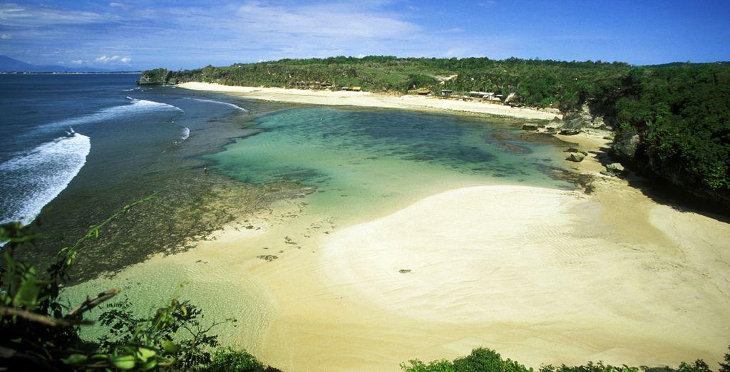 Or discover Bali's gorgeous beaches