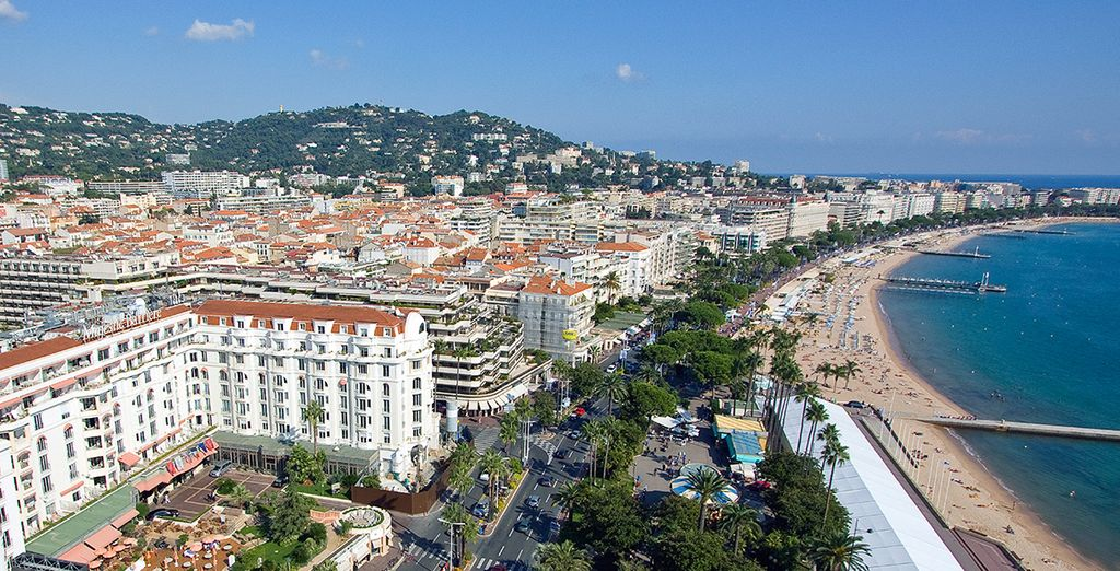 The Croisette is the place to be in Cannes...