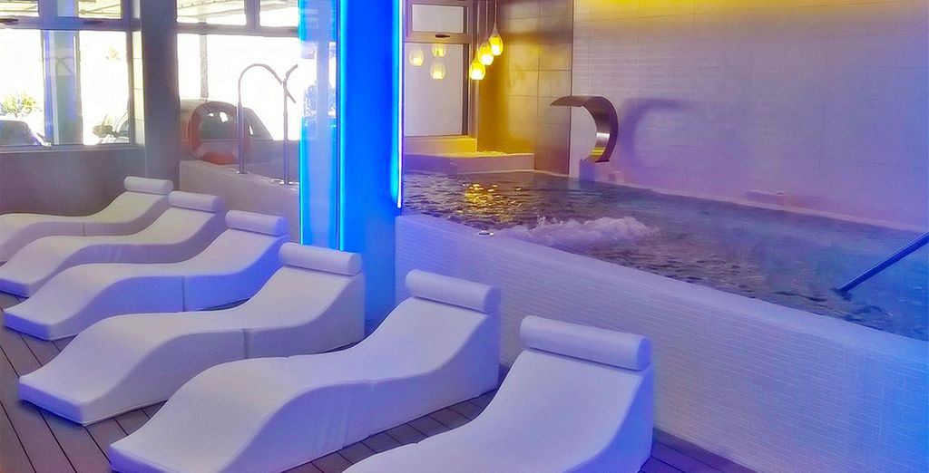 And a contemporary spa