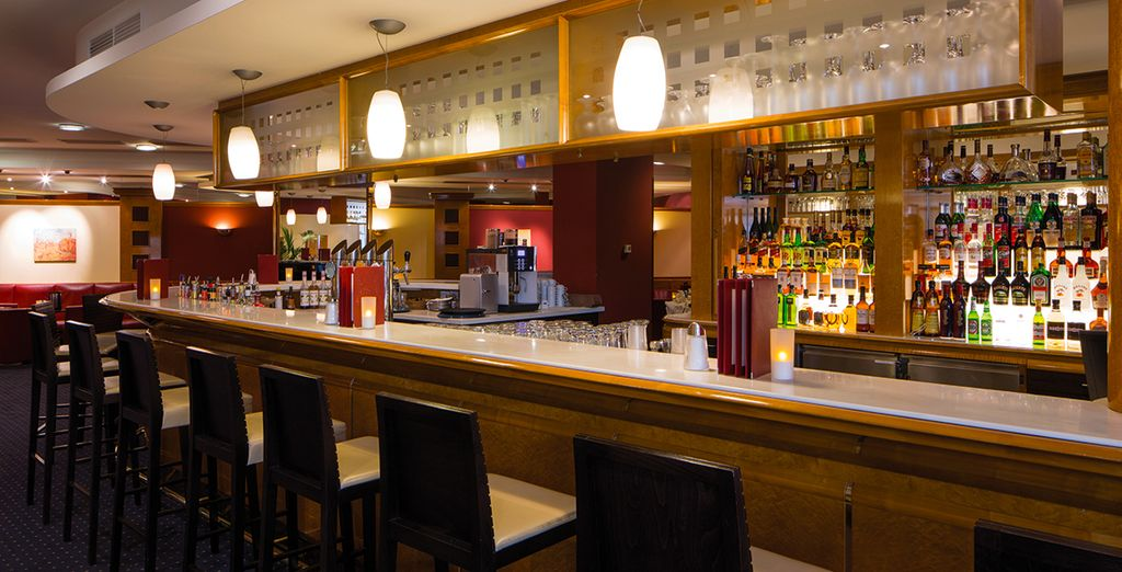 Sip your favourite beverages from the bar